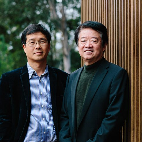 Professor Chao Deng and Distinguished Professor Xu-Feng Huang