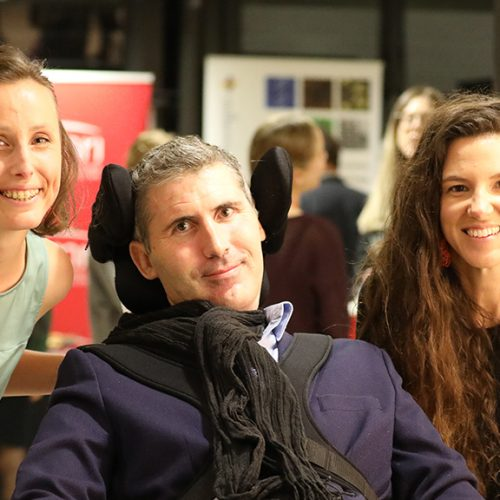 Research Assistant Clare Watson, Associate Professor Justin Yerbury and PhD candidate Rachelle Balez