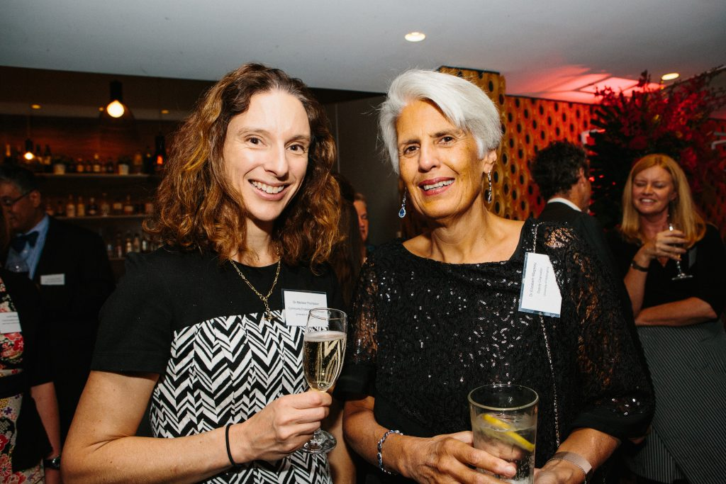 Dr Melissa Thompson and Dr Elizabeth Magassy. Photo by Trudy Simpkin.