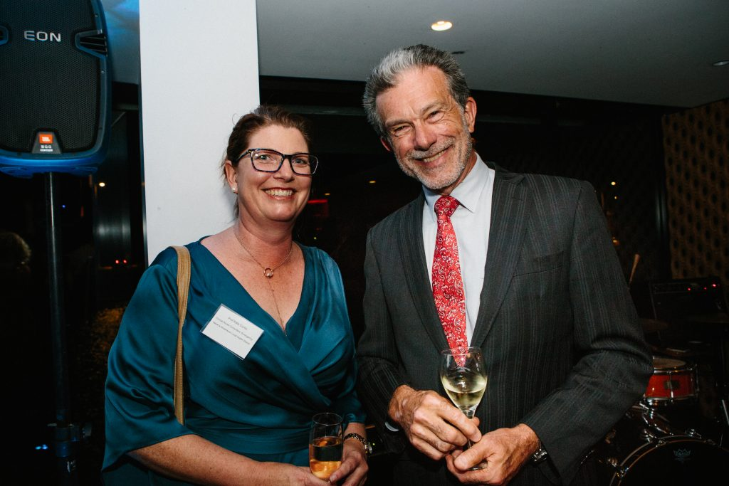 Professor Kate Curtis and Richard Morecroft