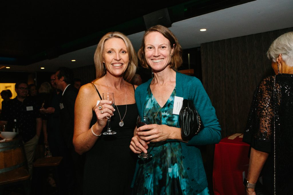 Janine Tehovnik and Dr Tracey Berg. Photo by Trudy Simpkin.