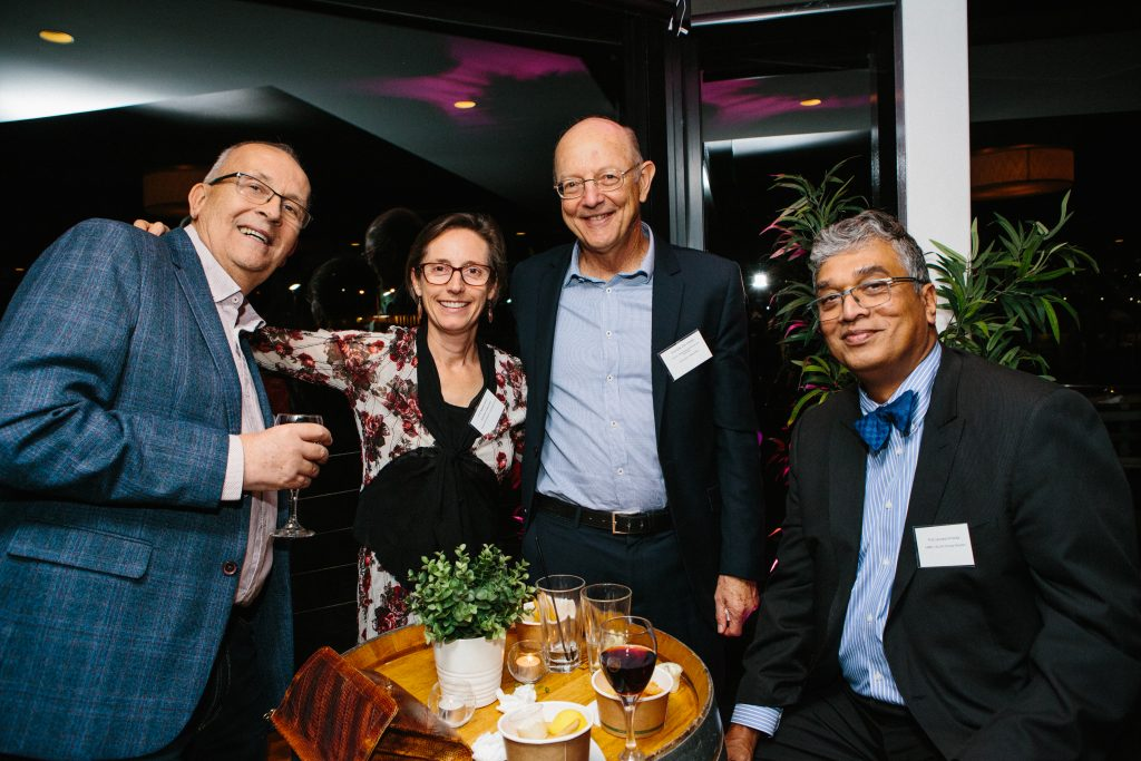 Dr Michael Clee, Dr Natalie Smith, Professor Dirk Van Helden and Professor Leonard Arnolda. Photo by Trudy Simpkin.