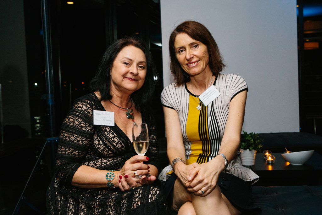 Professor Nadia Solowij and Professor Marie Ranson. Photo by Trudy Simpkin.