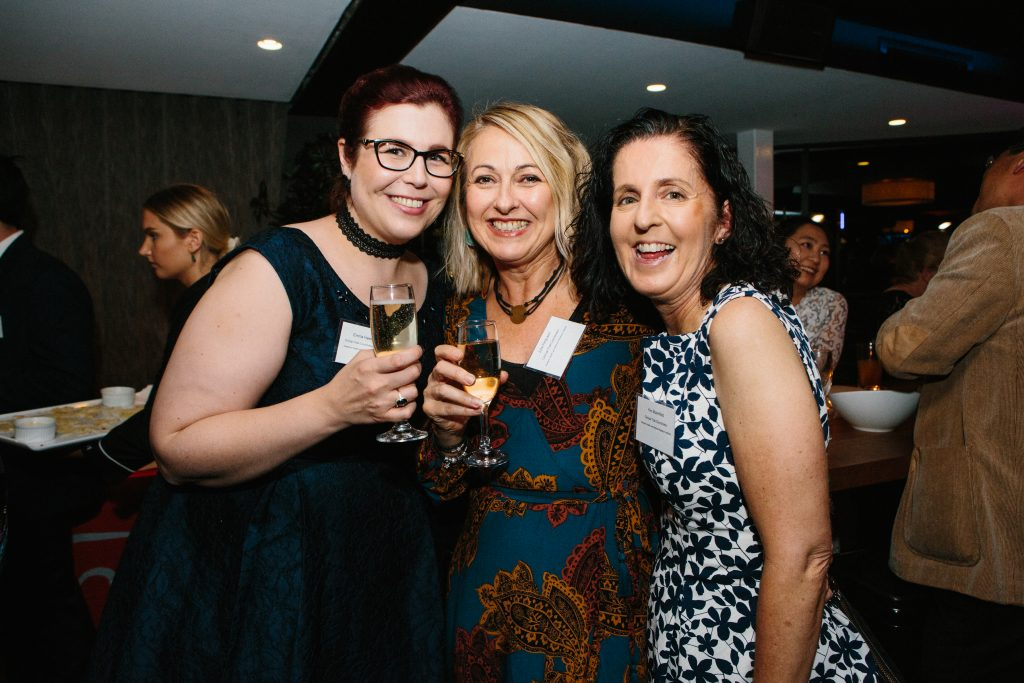 Emma Hawksworth, Julie Ferguson and Kim Bloomfield