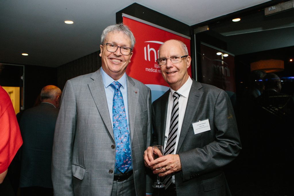 Professor Paul Wellings CBE and Professor Alan Pettigrew. Photo by Trudy Simpkin.