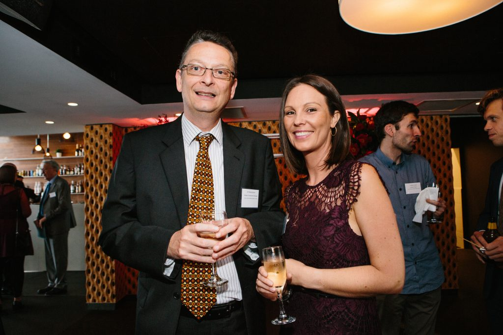 Dr Richard Brown and Dr Kara Vine Perrow. Photo by Trudy Simpkin.