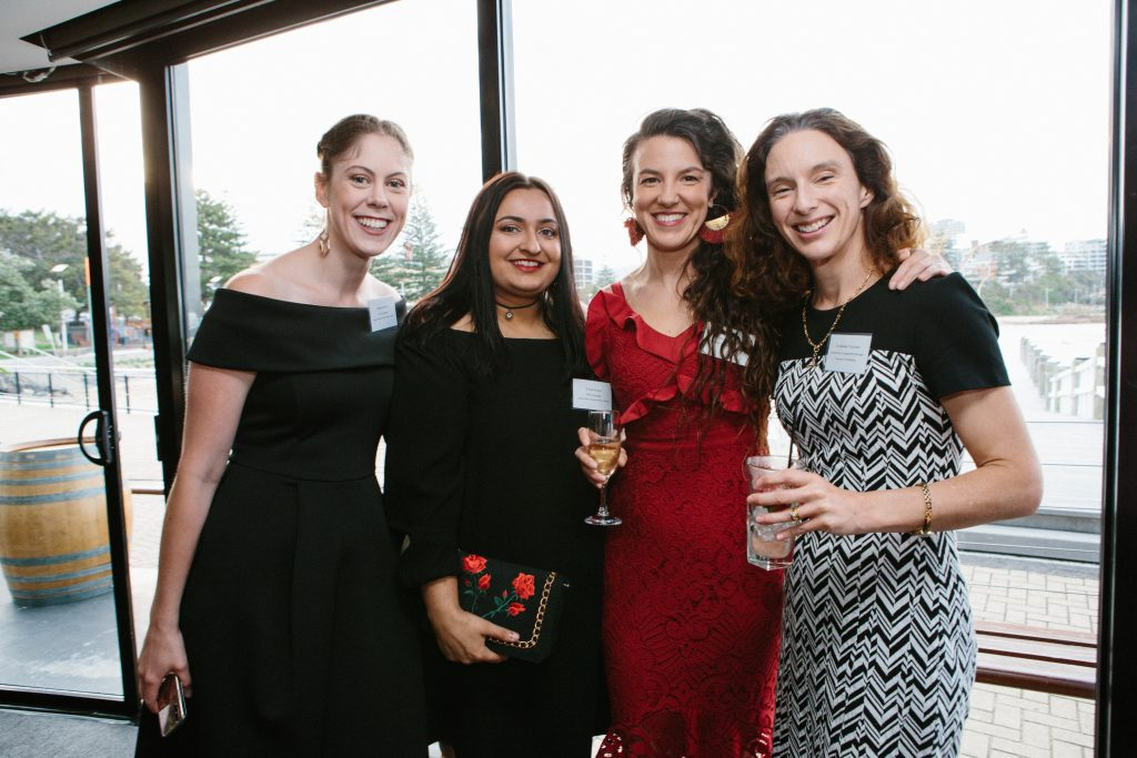 Natalie Guthrie, Emma Proctor, Rachelle Balez and Dr Melissa Thompson. Photo by Trudy Simpkin.