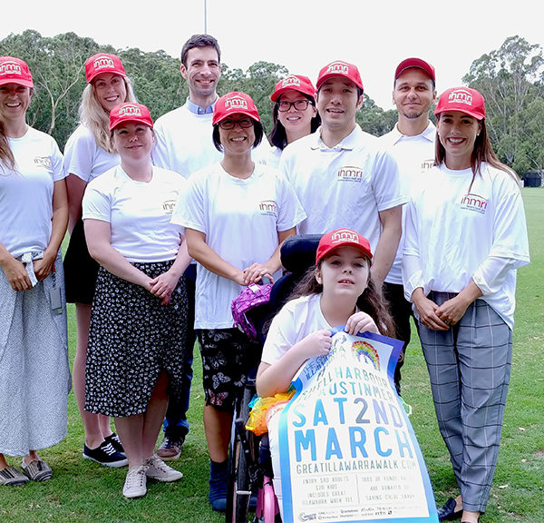Join Team IHMRI on the Great Illawarra Walk