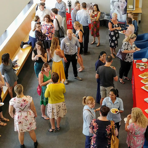 Research Breakfast Cafe at Wollongong Hospital.