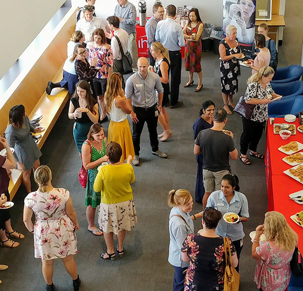 Research Breakfast Café at Wollongong Hospital