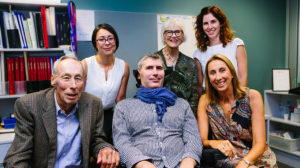 John Laidlaw, Associate Professor Lezanne Ooi, Professor Justin Yerbury, Janet Nash from MND Australia, Melissa Duggan and Senior Research Assistant Natalie Farrawell
