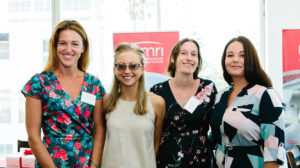 Dr Katrina Green, Dr Esther Davis, Dr Monique Francois and Dr Natalie Matosin. Photo by Trudy Simpkin.