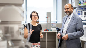 Associate Professor Lezanne Ooi Professor Chennupati Jagadish Photo Credit Paul Jones
