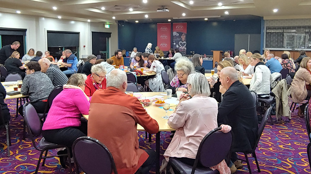 Crowds assemble for The Trivia Night Fundraiser for Pancreatic Cancer Research held at Albion Park Bowling Club.